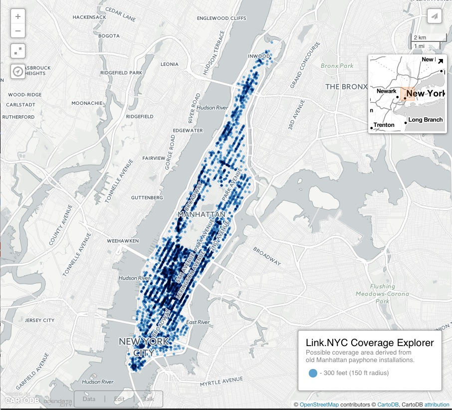 Link.NYC Coverage Explorer