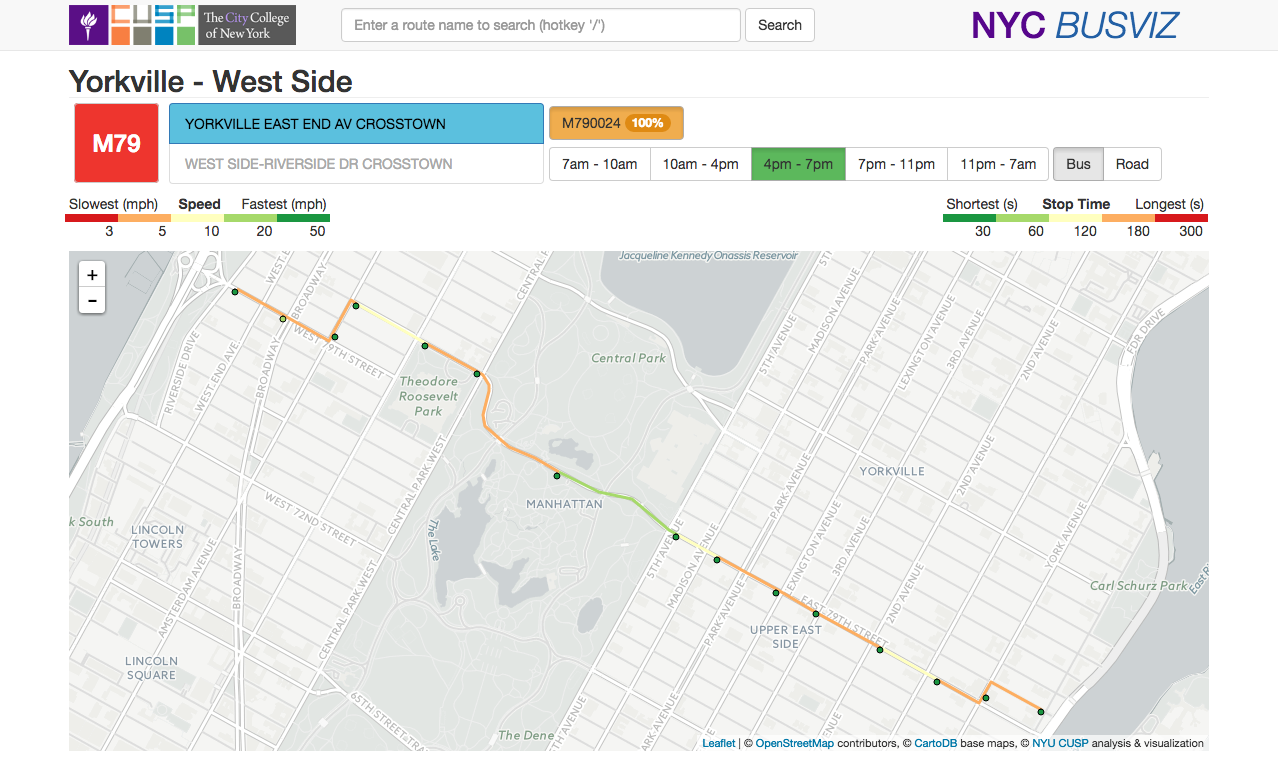 Big (Data) Opportunity To Rethink NYC's Buses